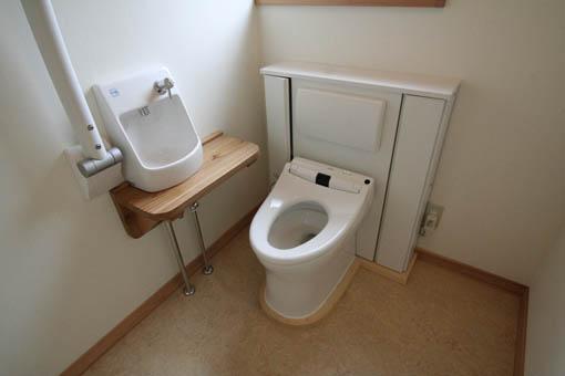 飯能の家23:完成:トイレ周りのユニバーサル_e0054299_1720339.jpg