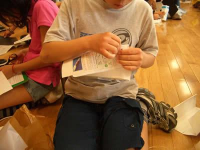 南小学校5年生の「親子行事」をちこり村見学会開催_d0063218_12553894.jpg