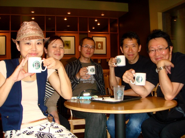 感謝 5/26(sat) star bucks coffee live_f0051464_05308.jpg