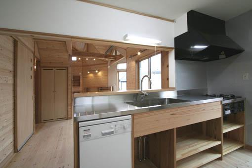 飯能の家24:完成:キッチン周り_e0054299_1147139.jpg