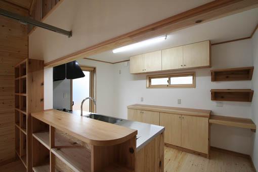 飯能の家24:完成:キッチン周り_e0054299_11473129.jpg