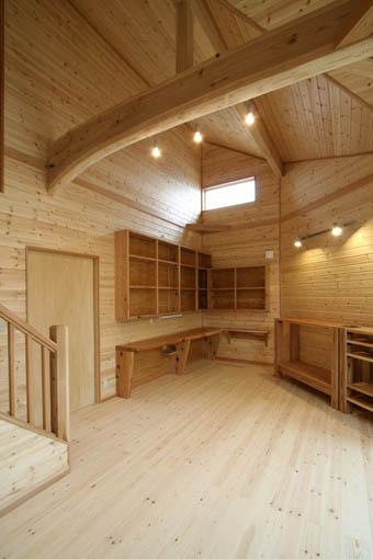 飯能の家27:完成:居間1_e0054299_23171269.jpg
