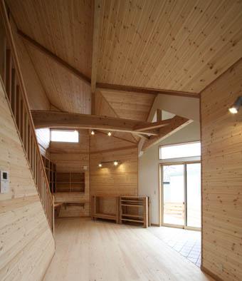 飯能の家26:完成:居間2_e0054299_2375416.jpg