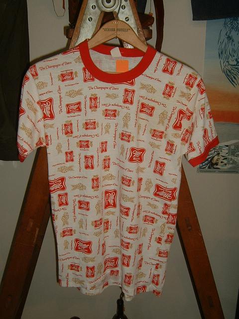 MILLER ビールTシャツ_d0121303_13411845.jpg