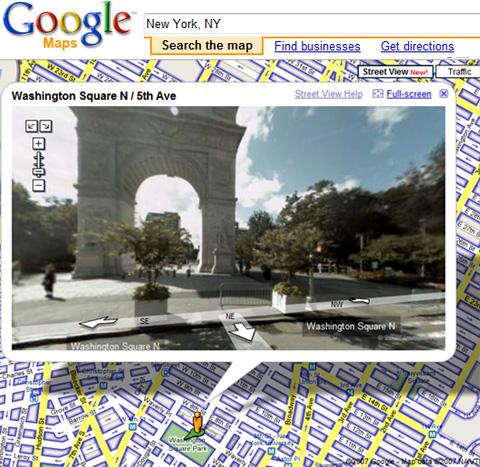 ニューヨークのバーチャルお散歩が楽しめます Google Street View_b0007805_6203695.jpg