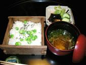久しぶりの日本料理でした。_d0110462_18113962.jpg