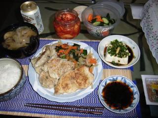 【夕食】 鮫の切り身_b0000480_147511.jpg