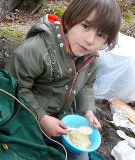 バックパッキングその3 〜湖でのキャンプ〜_a0088116_11354574.jpg