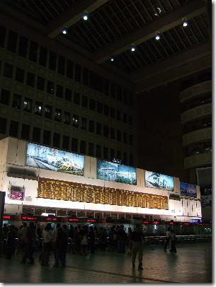 5月12日夜の台北駅