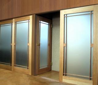 タペストリーガラスのデザインドアで快適リフォーム_e0010418_186309.jpg