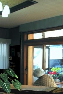 タペストリーガラスのデザインドアで快適リフォーム_e0010418_1863831.jpg
