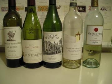 カリフォルニアワイン会@Bonne Soiree_f0057564_0184010.jpg