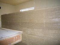 """現代に蘇る豊かな土壁 """"版築壁""""・・・左官の匠、技と文化を探る! _e0008000_1910412.jpg"""