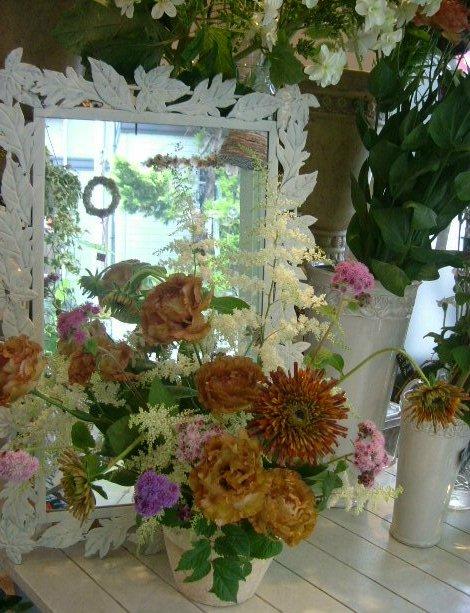 オークリーフ花の教室(長野さんの作品)_f0049672_1323476.jpg