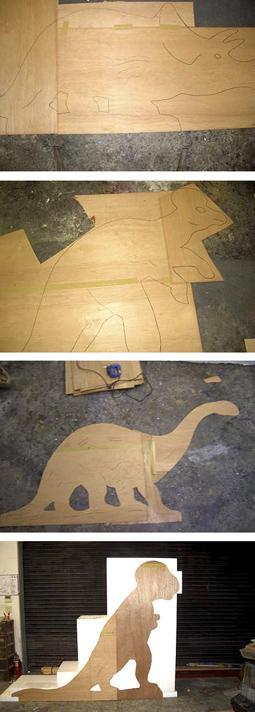 メーキング・オブ・レトロ恐竜4点セット/その2。_a0077842_165316.jpg