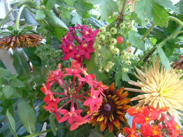 オークリーフ(EL SOLさんオープンのお花)_f0049672_17274537.jpg