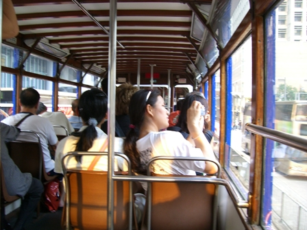 香港旅日記11 2階建てトラム_f0059796_2133390.jpg