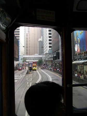 香港旅日記11 2階建てトラム_f0059796_2142737.jpg