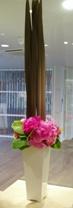 芍薬と紫陽花_d0104091_22131012.jpg