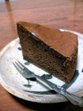 チョコレートケーキ!_e0103327_15194074.jpg