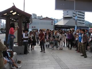 宮島コンパ 今年は50人オーバー(笑) 大学生と大はしゃぎ!!_a0033733_12323620.jpg