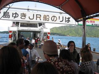 宮島コンパ 今年は50人オーバー(笑) 大学生と大はしゃぎ!!_a0033733_12334582.jpg