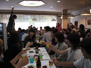 宮島コンパ 今年は50人オーバー(笑) 大学生と大はしゃぎ!!_a0033733_12584657.jpg