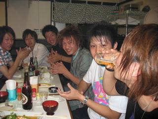 宮島コンパ 今年は50人オーバー(笑) 大学生と大はしゃぎ!!_a0033733_1481628.jpg