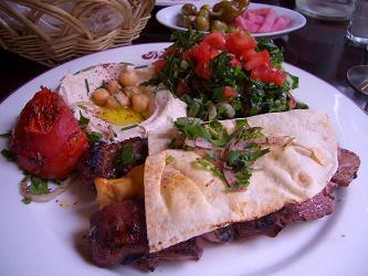 Nouraモンパルナスでレバノンランチ_a0098948_1693120.jpg