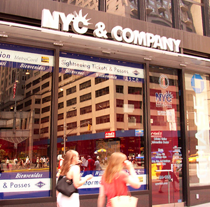 New York City & Companyのインフォメーション・センター_b0007805_22544527.jpg