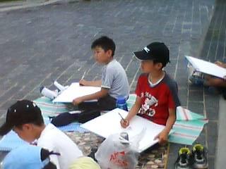 小学校の写生会_b0106766_17493631.jpg