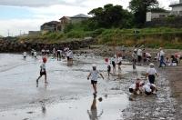 箱作小学校2年学習サポート in  自然海岸_c0108460_2236956.jpg