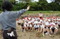 箱作小学校2年学習サポート in  自然海岸_c0108460_231225.jpg