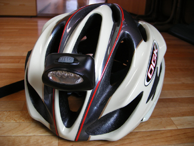 LED自作ヘルメットライト! : で ...