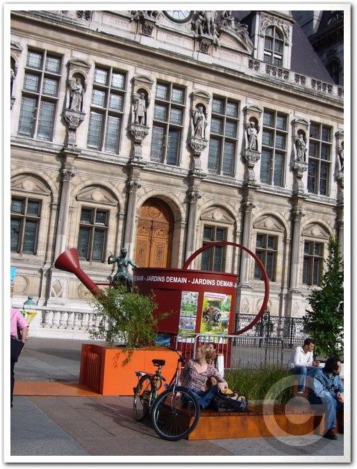 ■パリ市庁舎前のガーデン(JARDINS)_a0008105_196449.jpg