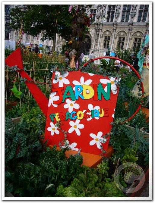 ■パリ市庁舎前のガーデン(JARDINS)_a0008105_1982572.jpg