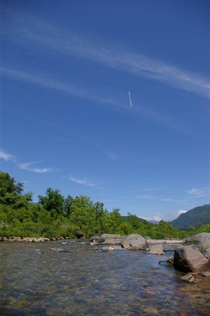 青い空と白馬岳_f0064359_14305844.jpg