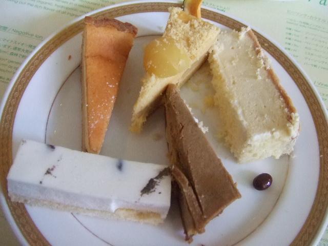 ヒルトン名古屋 ザ・ギャラリー チーズケーキフェア_f0076001_2010187.jpg