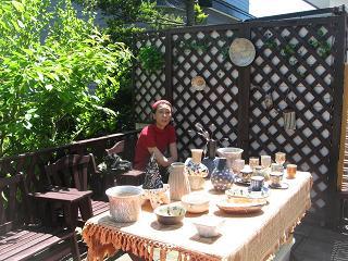 喫茶「タルト」でガーデンフェアーを開催_d0102413_7191165.jpg