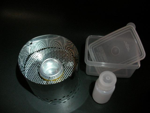 alcohol stove【足軽】Wind Guard +整流板_f0113727_5494320.jpg