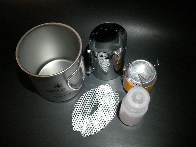 alcohol stove【足軽】Wind Guard +整流板_f0113727_5503199.jpg