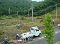 草刈り事業 in 望海坂_c0108460_15394616.jpg