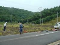 草刈り事業 in 望海坂_c0108460_15423868.jpg