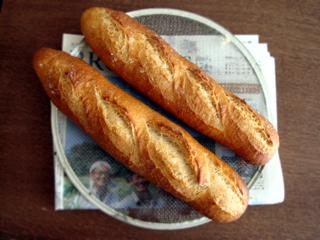 梅酵母テスト フランスパン風_c0110869_9481756.jpg
