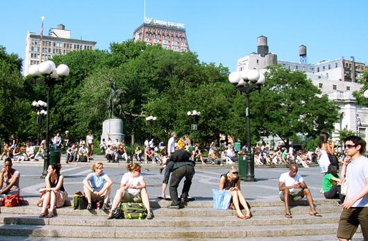 6月から真夏みたいなニューヨークの気候_b0007805_13471895.jpg