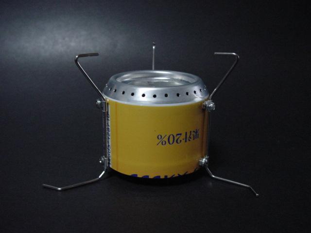 alcohol stove【足軽】すっきり_f0113727_5143188.jpg