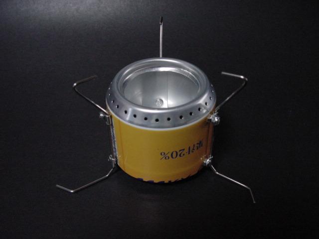 alcohol stove【足軽】すっきり_f0113727_5144510.jpg