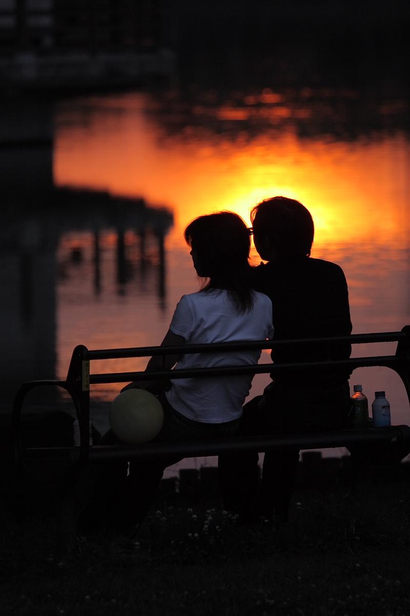 綺麗な夕日_f0021869_18324331.jpg