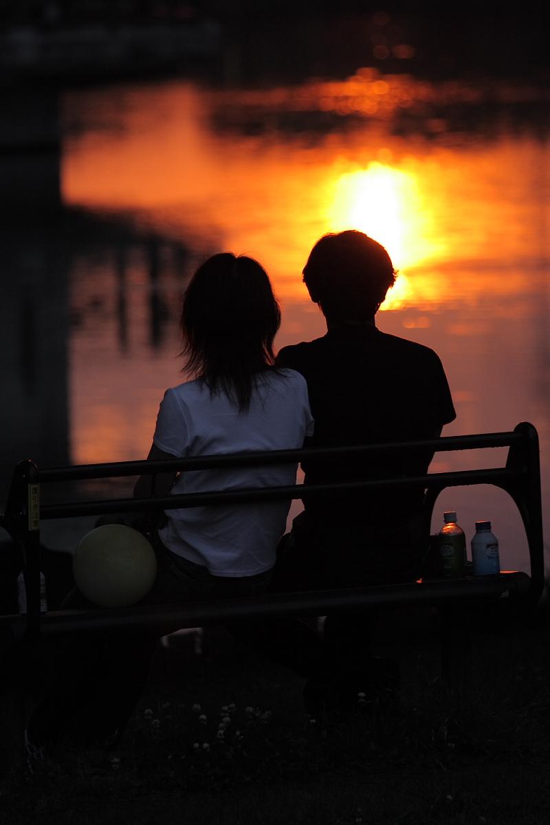 綺麗な夕日_f0021869_18351598.jpg