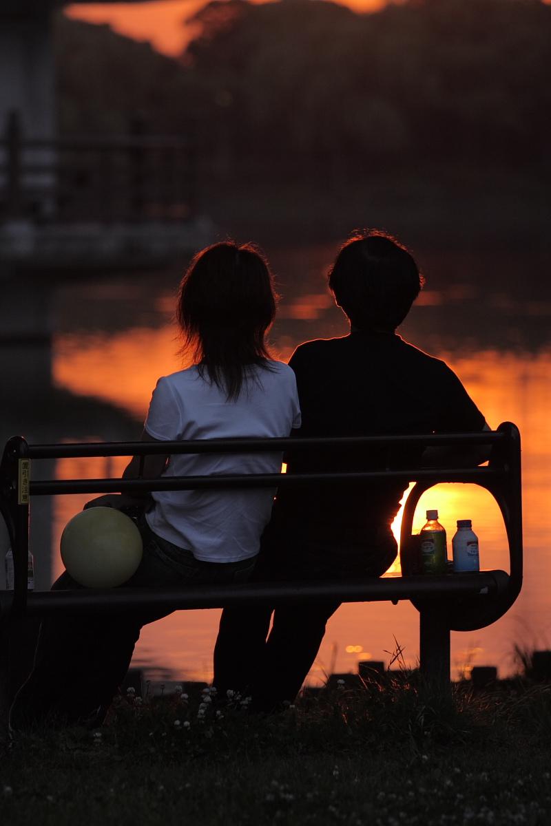 綺麗な夕日_f0021869_18354760.jpg
